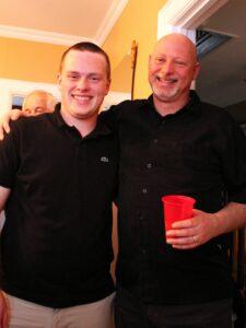 Alex with hubby Geoff
