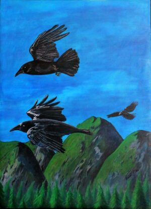 As the Crow Flies by Bobbi Pike