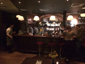 The Bar at Jamie Oliver's Fifteen
