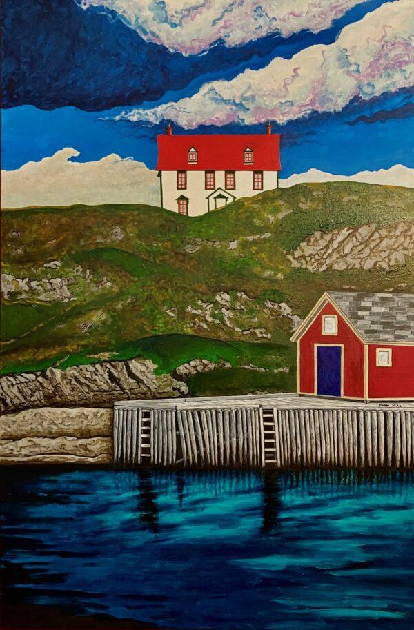 House on the Nuddick by Bobbi Pike