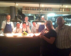 Meeting the Chef team.