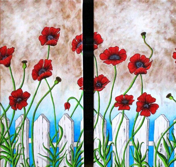 Nannies Poppies by Bobbi Pike