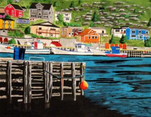North Side - Petty Harbour by Bobbi Pike