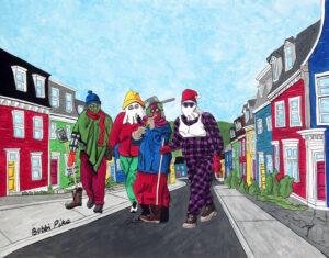 Party on Prescott by Bobbi Pike Art