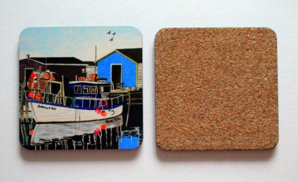 Petty Harbour Blues coaster