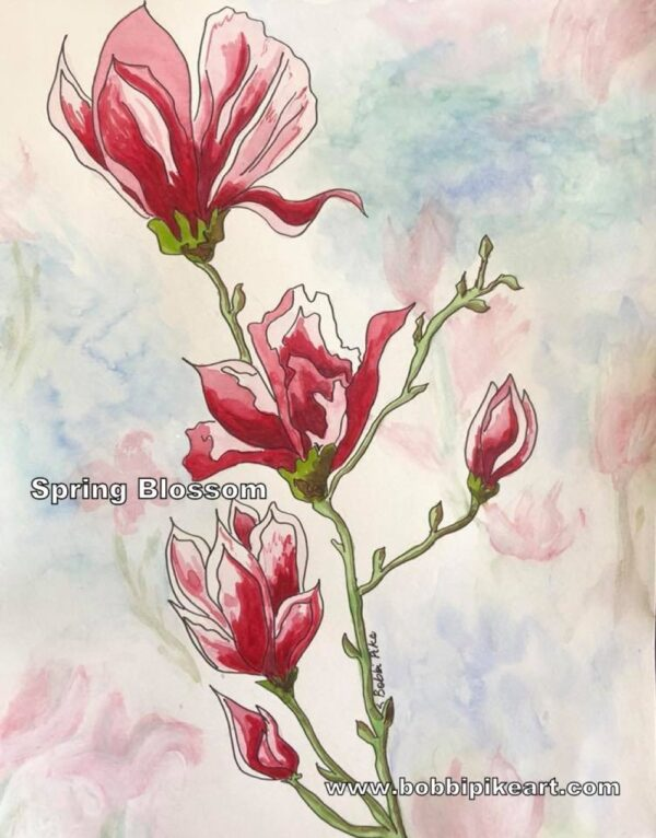 Spring Blossom by Bobbi PIke