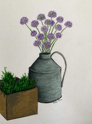 Thyme and Chives by Bobbi Pike