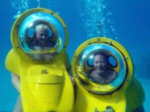 Under the Bahamian Sea
