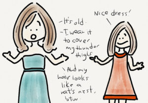 Do your compliments looks like this?