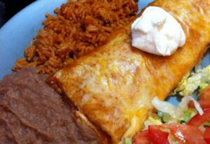Our shredded Beef Burritos; A family favourite
